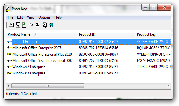 Product Key Finder 2.2.3 Free Download