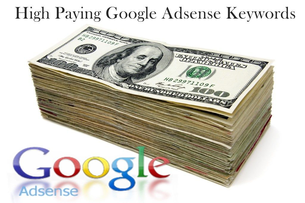 Best High Paying Keywords Google Adsense 2016