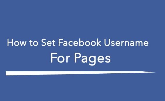Set-Facebook-Fan-Page-Username