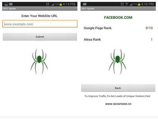 Download-SEO-Spider-Android-App-Free