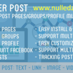 Tiger Post v 1.4 Facebook Auto Post Multi Pages Groups Profiles