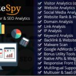 SiteSpy – Complete Visitor and SEO Analytics Nulled Script