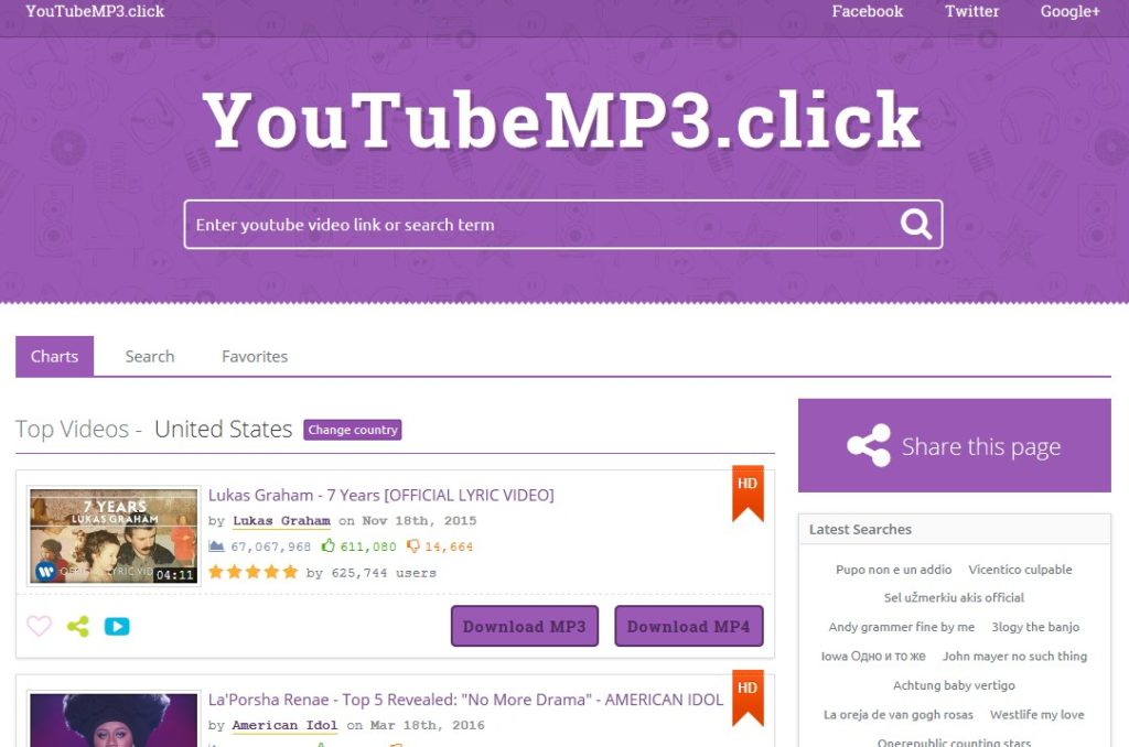 YouTube to MP3 Converter Pro With Admin Panel