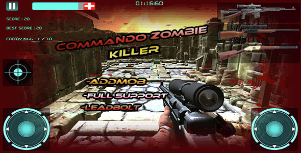 Zombie-Killer-Attack-Multi-Guns-Download-Android-APK-Game