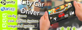 City-Car-Driver-Unity ChupaMobile-with-AdMob