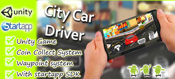City-Car-Driver-Unity ChupaMobile-with-AdMob