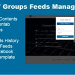 Download Facebook Pages and Groups Posts Manager Pro Nulled