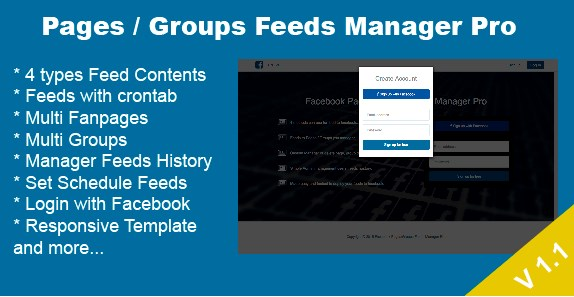 Download-Facebook-Pages -Groups-Posts-Manager-Pro