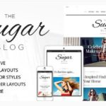 Download SugarBlog Clean & Personal WordPress Blog Theme