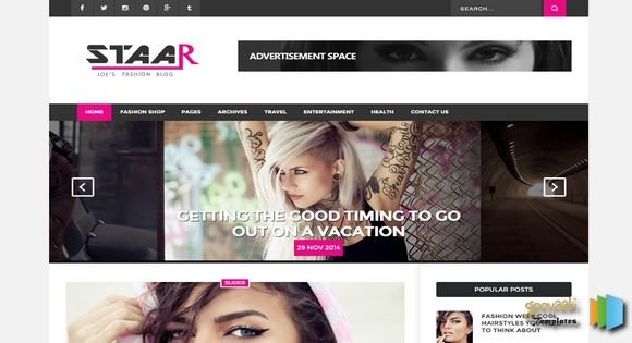 fashion-staar-blogger-template-free-download