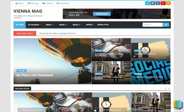 vienna-mag-blogger-template-Free-Download