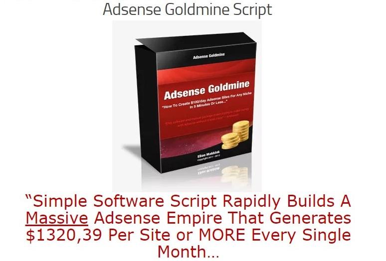 Adsense Goldmine Nulled Script Free Download
