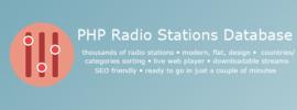 PHP-radio-stations-database