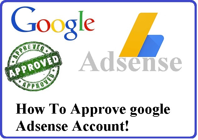 How To Approve legal google Adsense Account