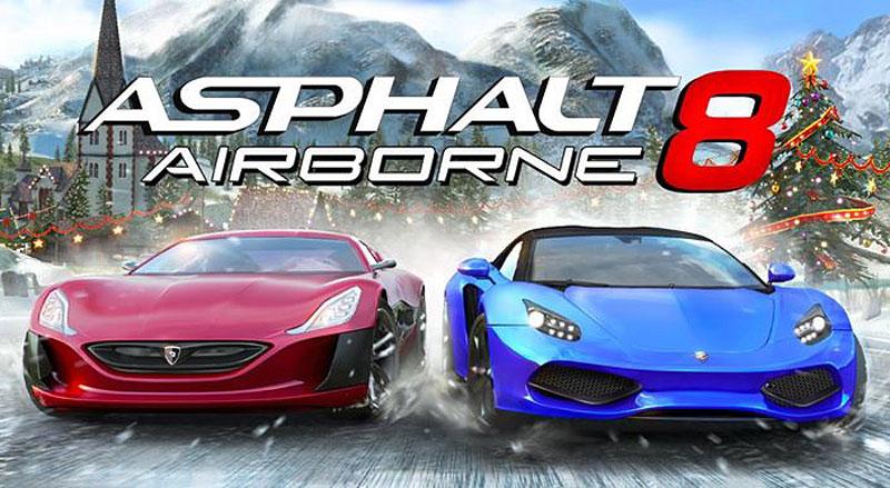 Asphalt 8 MOD APK 2.1.0l Android HD Games Free Download