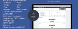 Facebook-Messenger-BOT-GUI-Builder