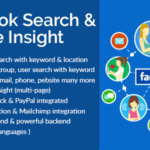 Facebook Search Page Insight Nulled Script Free Download