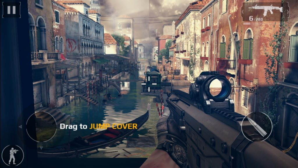 Modern Combat 5 Blackout for iPhone and iPad Screenshots Free Download