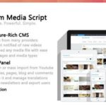 Premium Media Script v1.5.1 Free Download