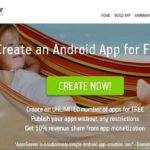 Easy Create and Develop Android or iOS Application Without Coding