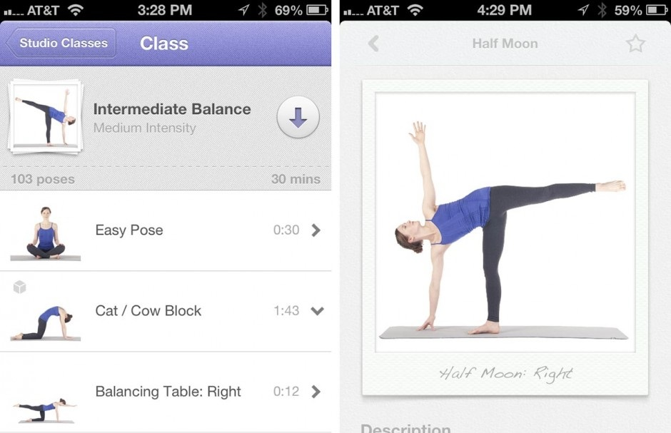 Yoga Studio Amazing iOS Fitness apps