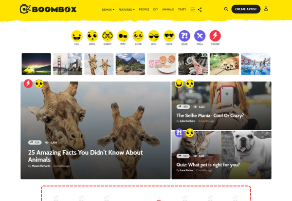 free-download-boombox-viral-buzz-wordpress-theme-nulled