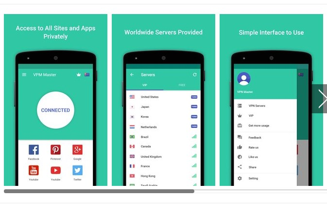 VPN Master Free Unblock Proxy Free Android APK Download