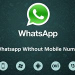 Whatsapp Trick Where You Can use Whatsapp Without Number