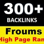300 High Page Rank Forums to Get High Quality Backlinks and Traffic