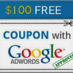 Free Google Adword Coupon Code $100