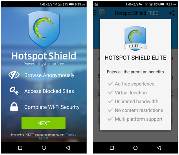 Hotspot Shield Elite VPN Full Android APK Download