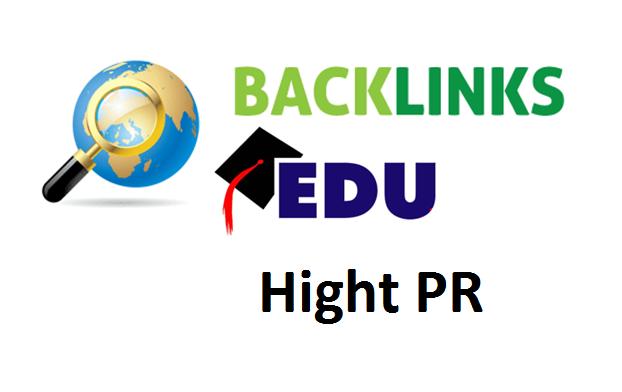 Top Hight PR Free Dofollow EDU Backlinks List
