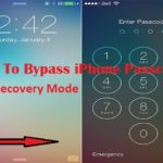 How To Bypass iPhone Passcode – Using Recovery Mode