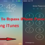 How To Bypass iPhone Passcode – Using iTunes