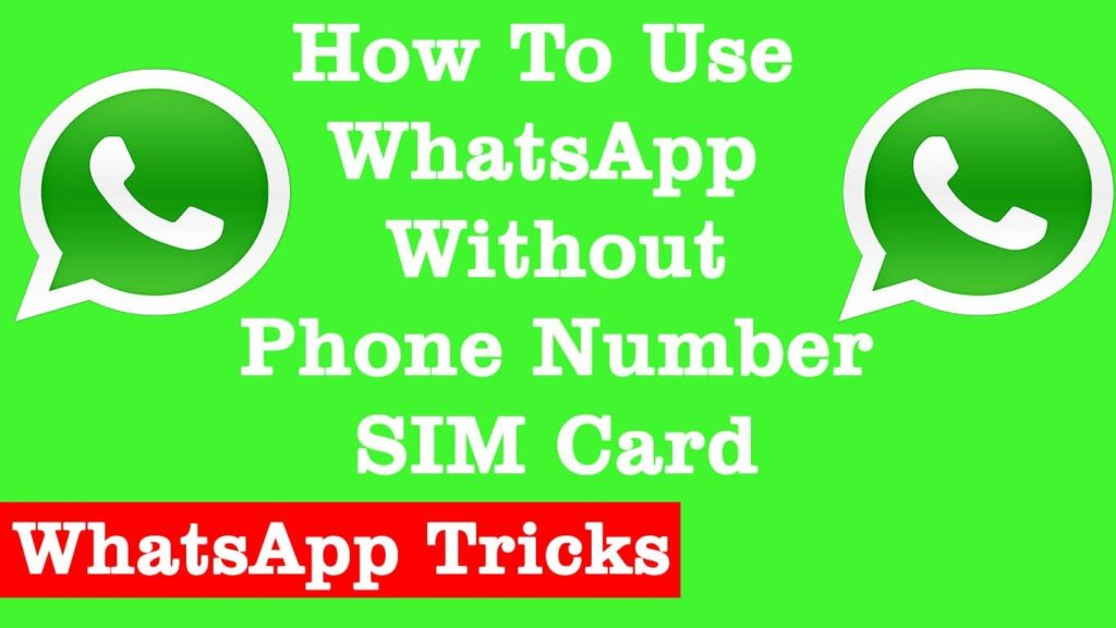 How to use WhatsApp Without Using Your Own Number or With USA Number