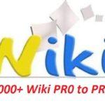 Download 2.000 wiki sites PR0 to PR9 + A huge list