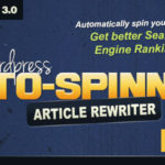 WordPress Auto Spinner Plugin – Articles Rewriter