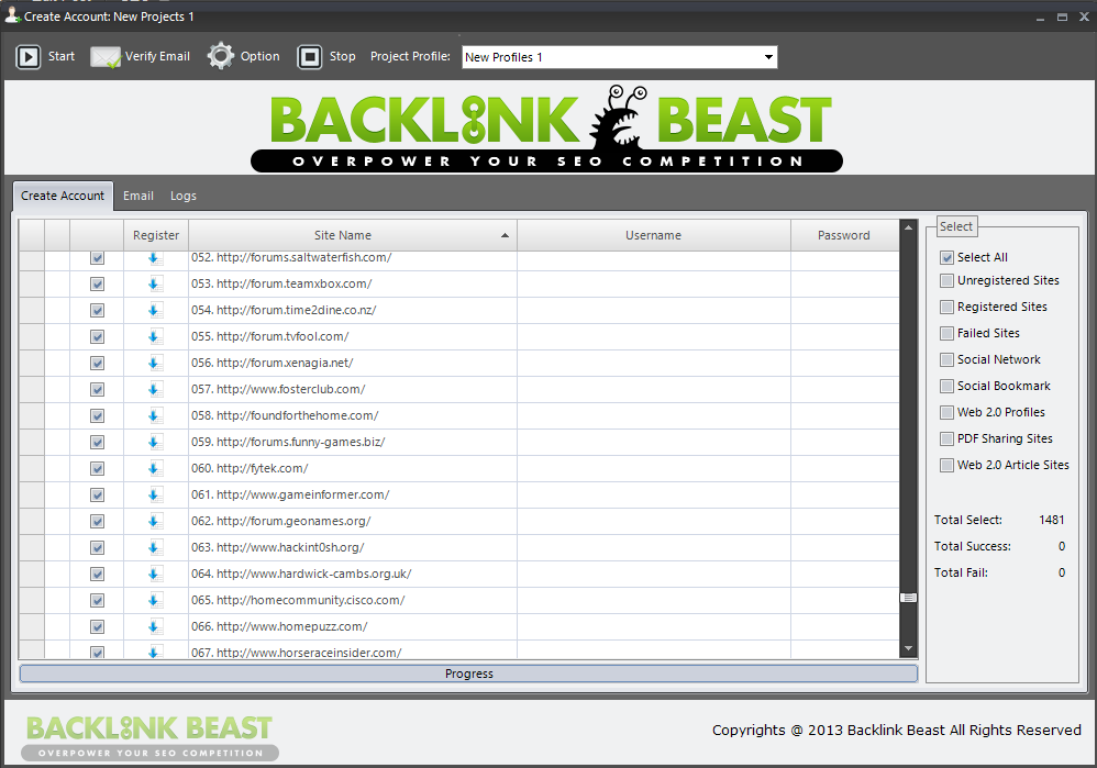 Backlink beast Free Download Full Version