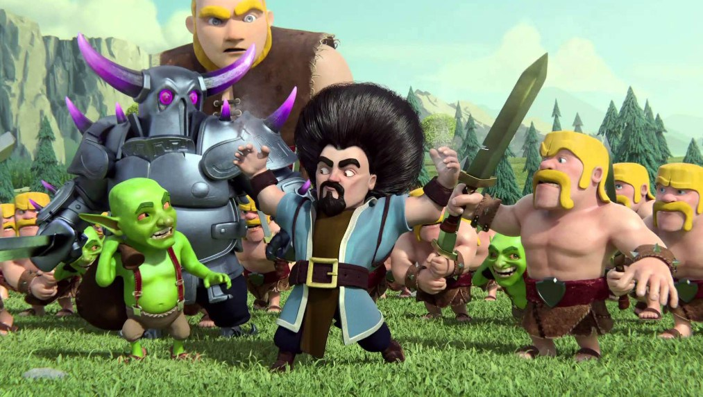 Clash of Clans v12 Unlimited Mod Hack Android APK Download