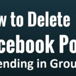 Delete All Facebook Group Pending Posts At Once