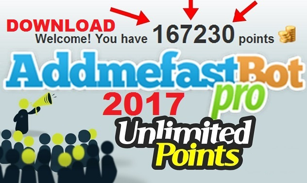Download AddMeFast Bot Suite 2017 Portable