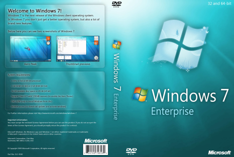 Download Windows 7 Enterprise Full Fre Version ISO