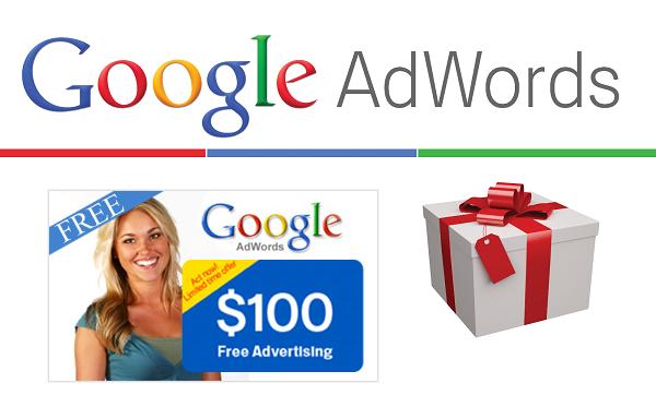 Free $100 Google Adwords Coupon Promo Codes