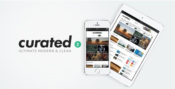 Free Download Curated v2.0.0 – Ultimate Modern Magazine Theme