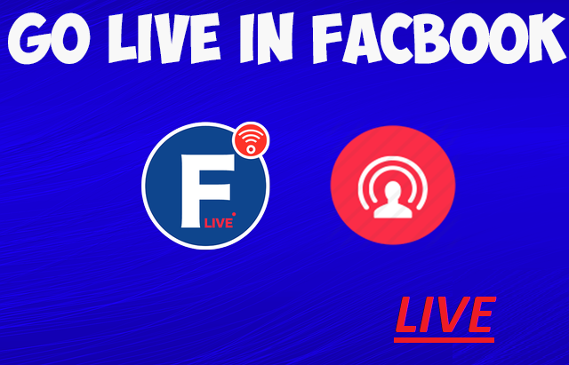 How to go Live on Facebook Fan Page And Profile