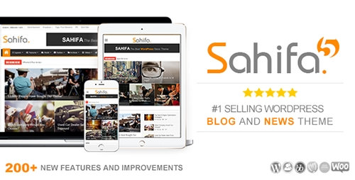 Sahifa – Responsive WordPress News, Magazine, Blog Theme Free Download