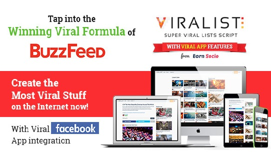 Viralist v1.1.2 – Viral lists script with Facebook App Download