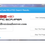 YouTube SEO Tools Tube Traffic Scraper Cracked
