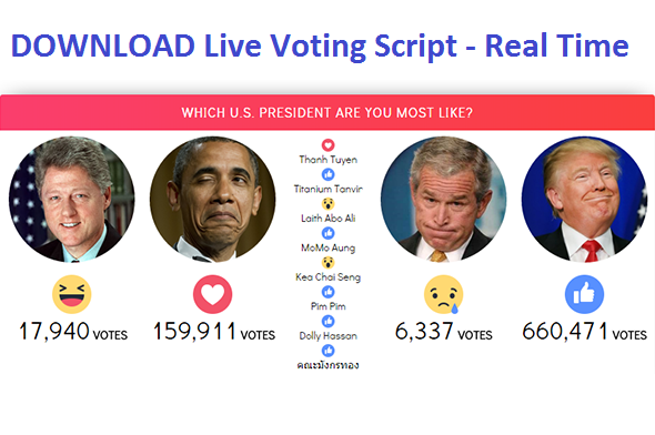 download-facebook-live-reactions-vote-real-time-script