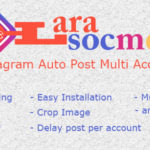 LaraSocMed – Instagram Auto Post Multi Accounts Download